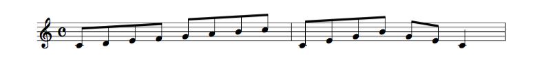 jazz sheet music scale code1