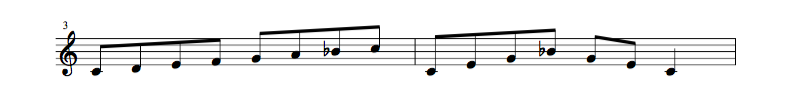 jazz sheet music scale code2