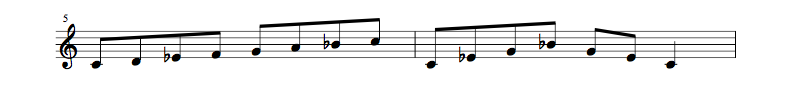 jazz sheet music scale code3