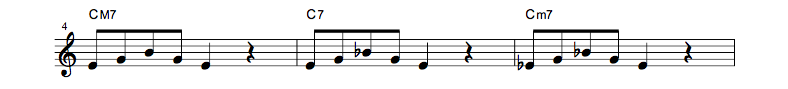 jazz sheet music scale code5