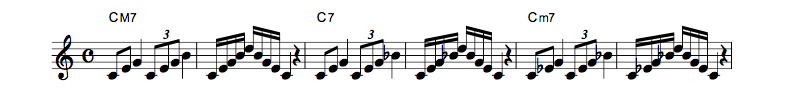 jazz sheet music scale code8