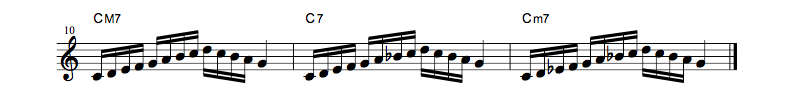 jazz sheet music scale4