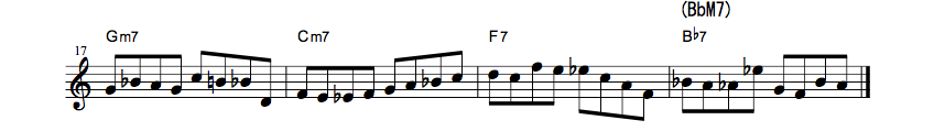 How To Use Bebop Scale?? all the things1