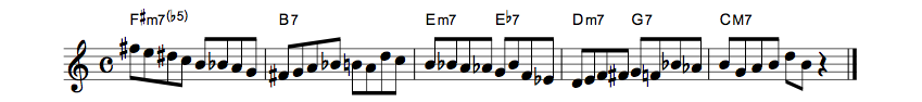 How To Use Bebop Scale??オールドフォークス1
