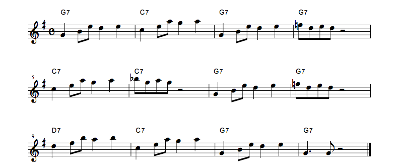 jazz sheet music 3codebluse02