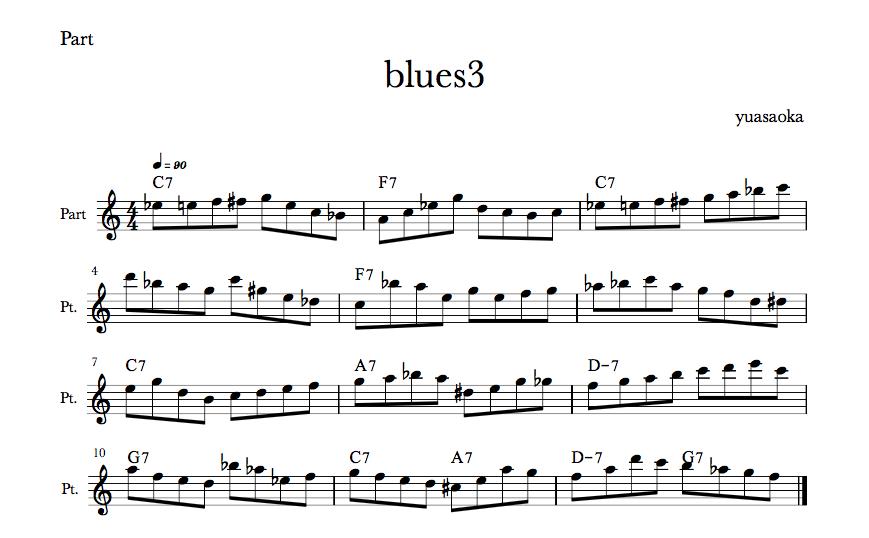 blues#3