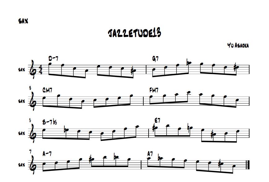 jazzetude#13