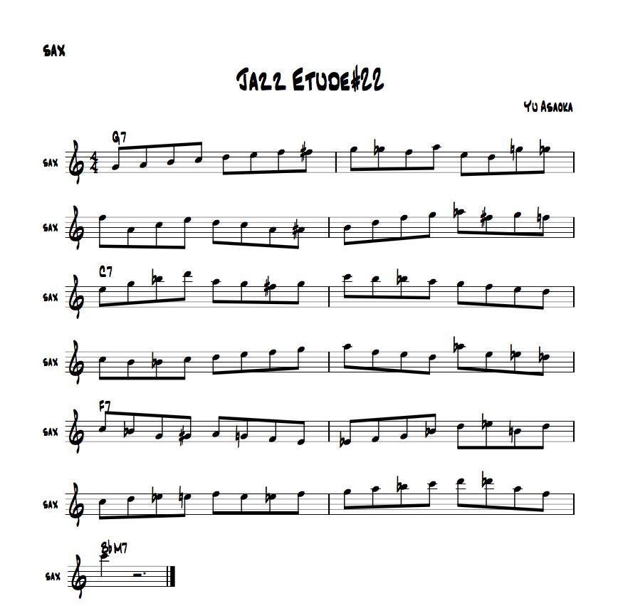 jazzetude#22