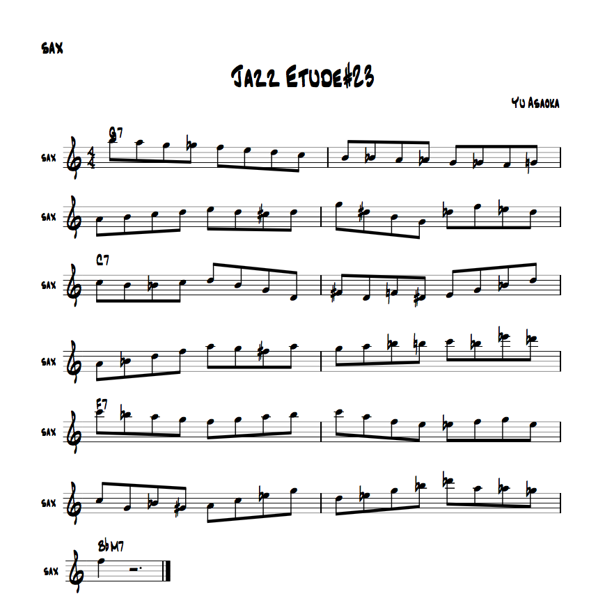 jazzetude#23