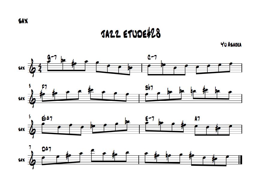 jazzetude#28
