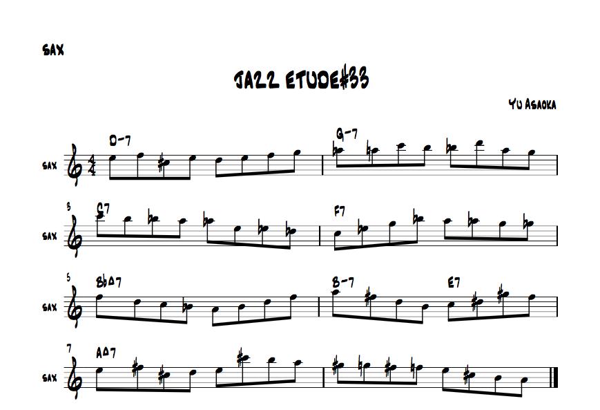 jazzetude#33