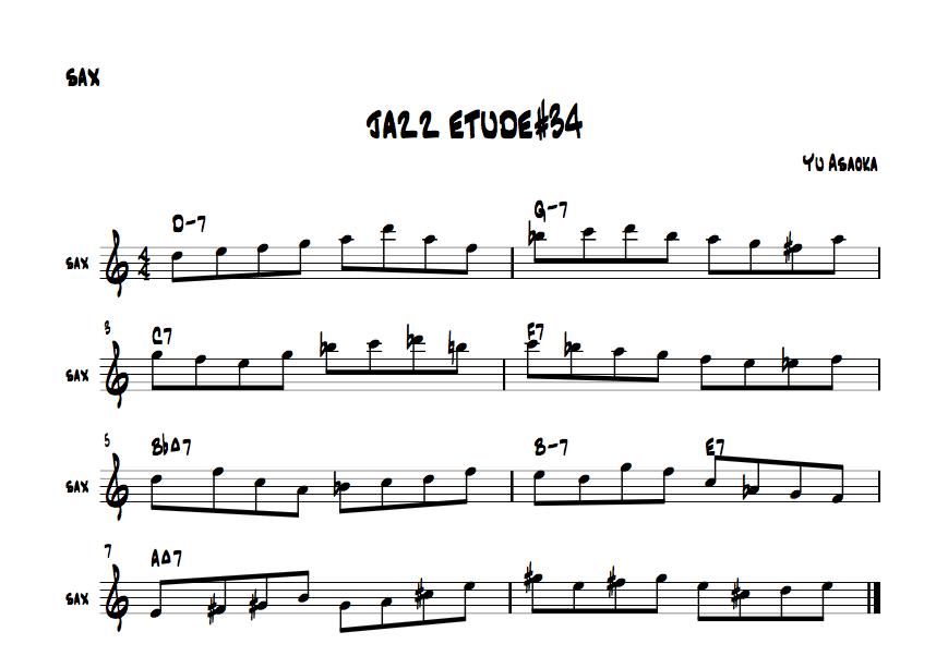 jazzetude#34