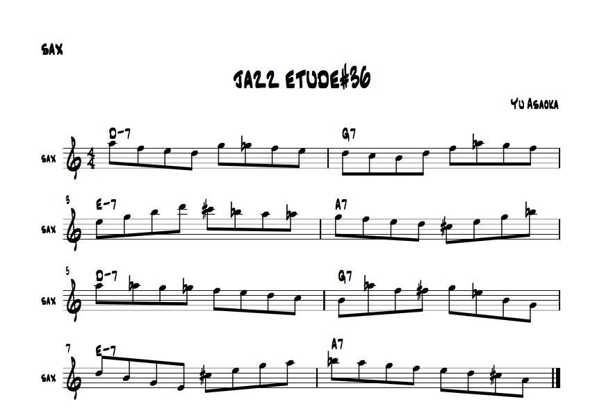 jazzetude#36