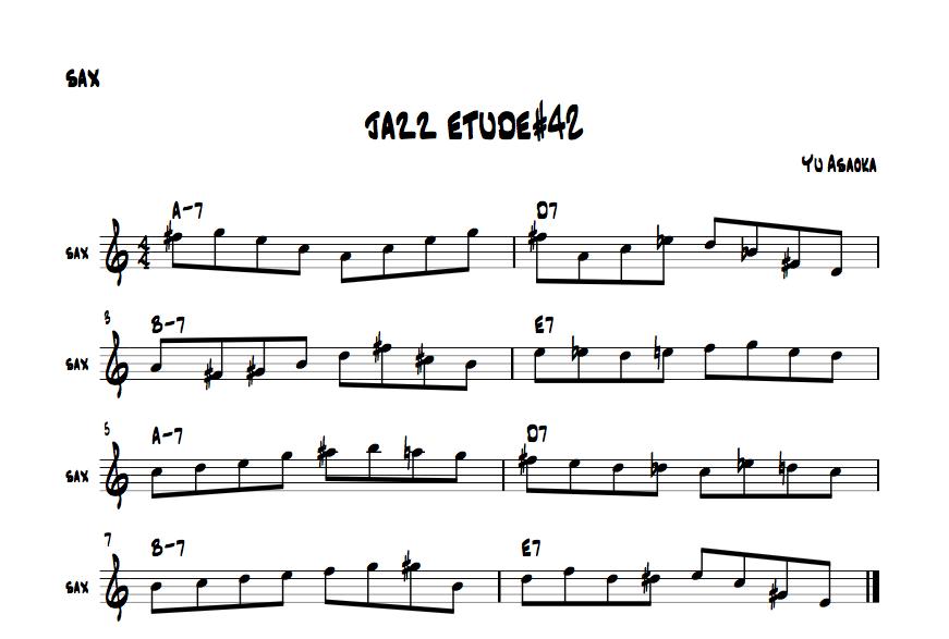 jazzetude#42