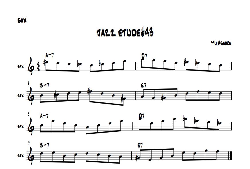jazzetude#43