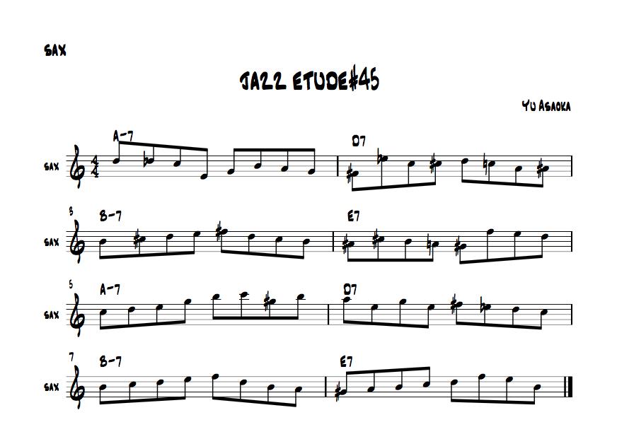 jazzetude#45
