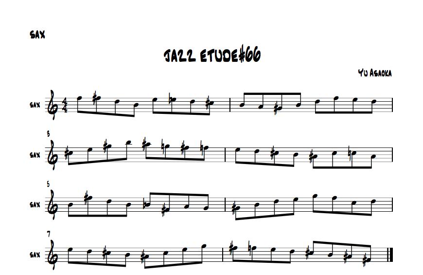 jazzetude#66