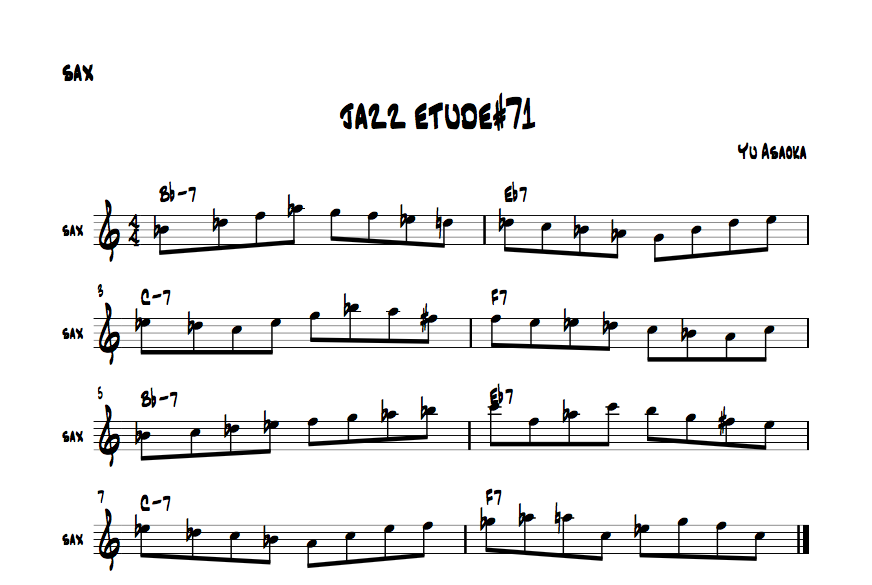 jazzetude#71