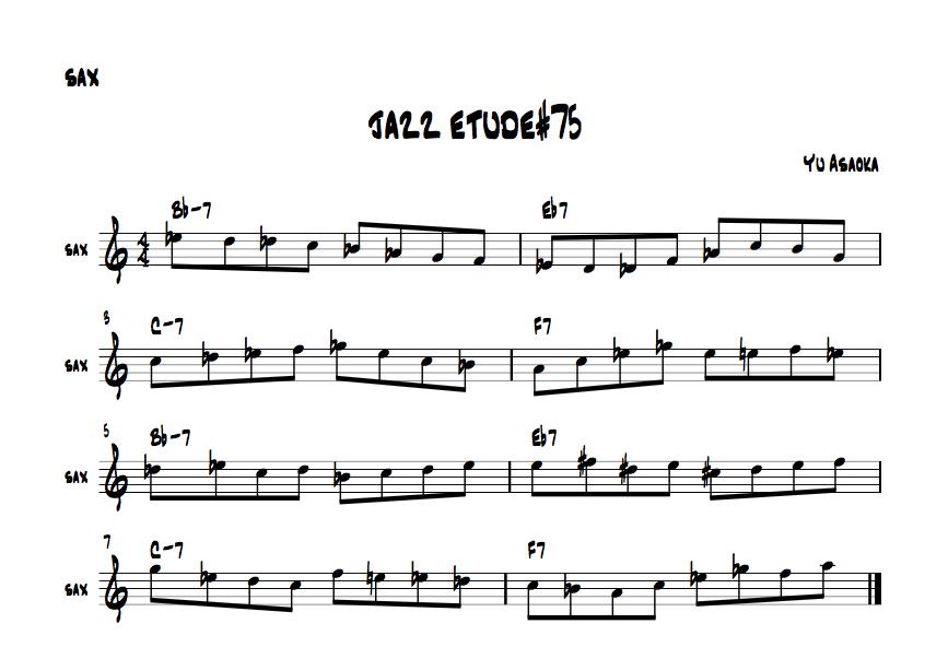 jazzetude#75