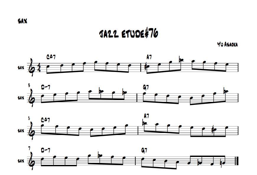 jazzetude#76