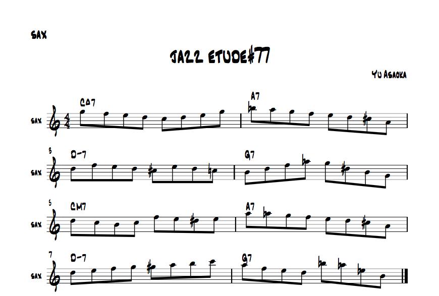 jazzetude#77