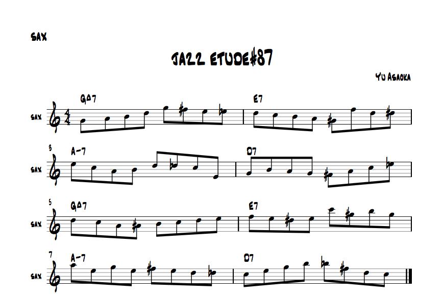 jazzetude#87