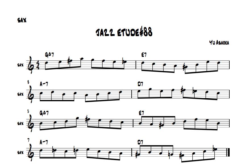 jazzetude#88
