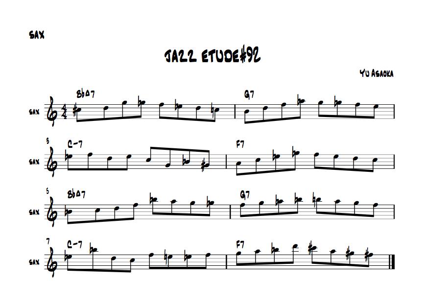 jazzetude#92